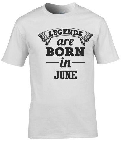 LEGENDS ARE BORN IN JUNE PÓLÓ