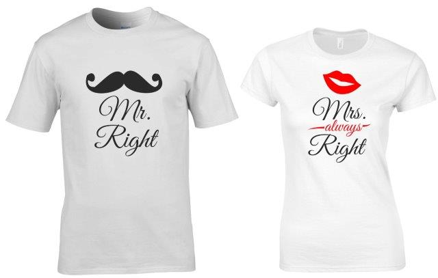 MR RIGHT MRS RIGHT PÁROS PÓLÓ