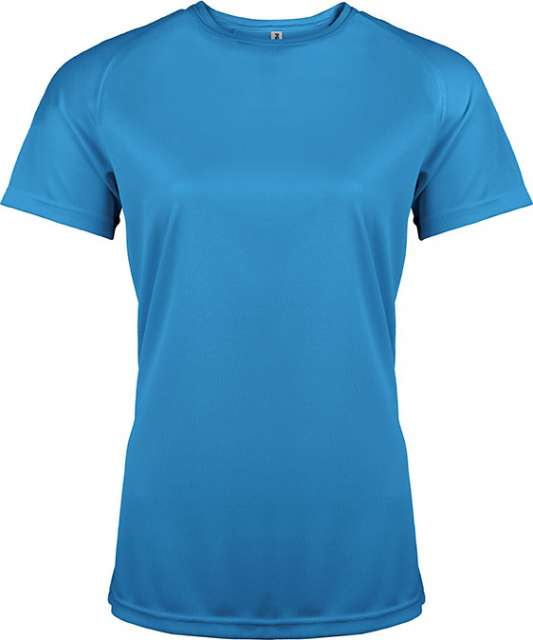 LADIES' SHORT SLEEVE SPORTS T-SHIRT
