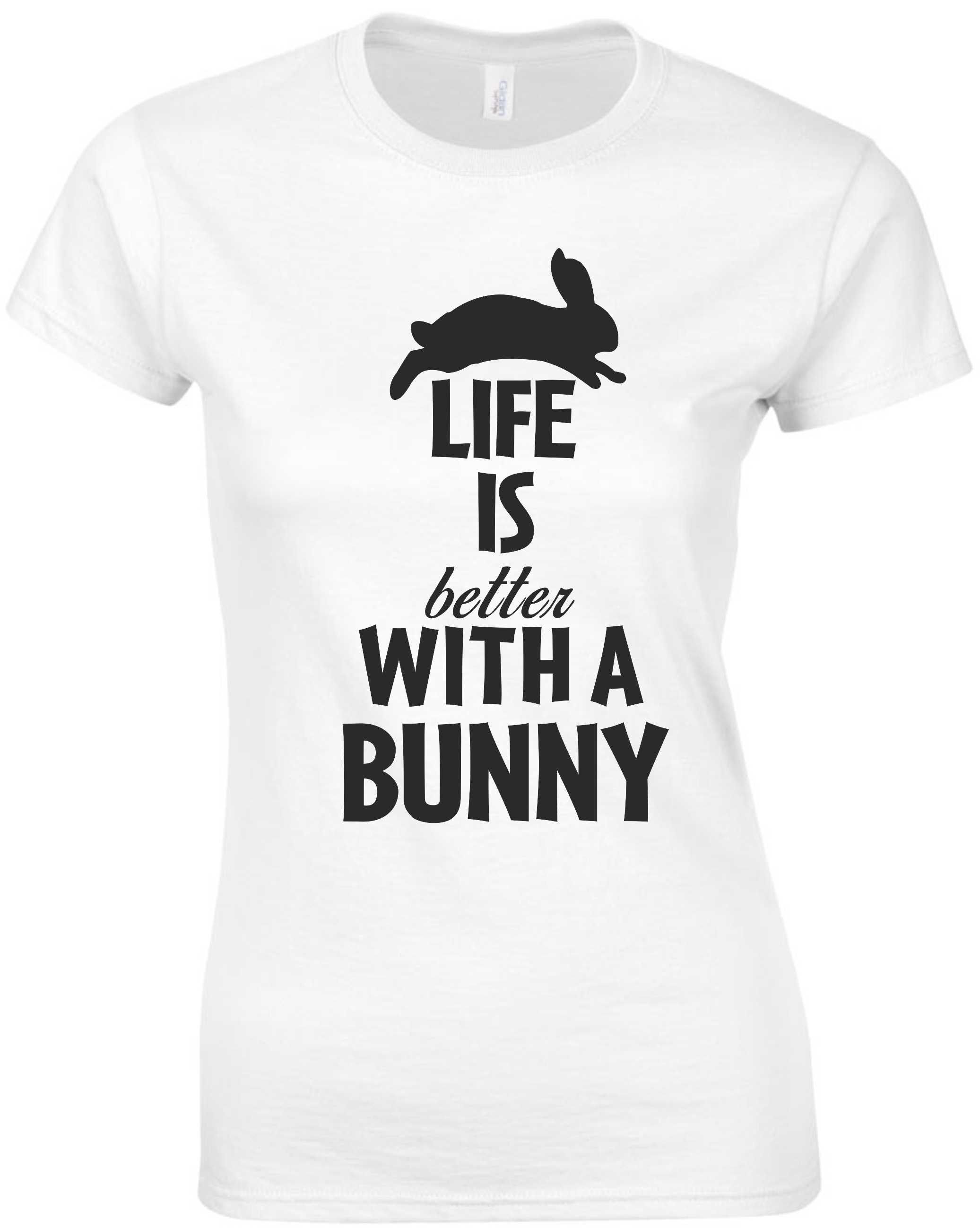 LIFE IS BETTER WITH A BUNNY PÓLÓ